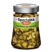 Marinated Courgettes, Capri Style
